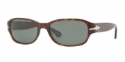Persol PO3022S Sunglasses Sunglasses - 24/31 Havana / Crystal Green