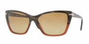 Persol PO3023S Sunglasses Sunglasses - 953/58 Dark Horn Red / Crystal Brown Sfumato