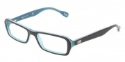 D&G DD1225 Eyeglasses Eyeglasses - 1870 Black Turquoise White