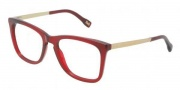 D&G DD1231 Eyeglasses Eyeglasses - 550 Transparent Red