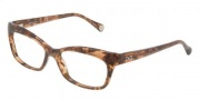 D&G DD1232 Eyeglasses Eyeglasses - 2550 Brown Marbled