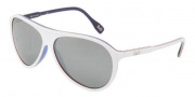 D&G DD3075 Sunglasses Sunglasses - 18736G White Red Blue / Gray Silver Mirror