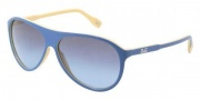 D&G DD3075 Sunglasses Sunglasses - 19488F Azure on Yellow / Blue Gray Gradient