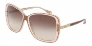 D&G DD3078 Sunglasses Sunglasses - 176513 Brown on Beige / Brown Gradient