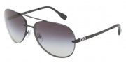 D&G DD6086 Sunglasses Sunglasses - 11098G Matte Black / Gray Gradient