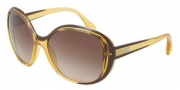 D&G DD8090 Sunglasses Sunglasses - 198513 Yellow Brown / Brown Gradient 