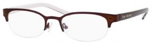 Juicy Couture Juicy 108 Eyeglasses Eyeglasses - OJJK Satin Brown