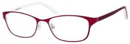Juicy Couture Juicy 109 Eyeglasses Eyeglasses - 0JFM Satin Red / White