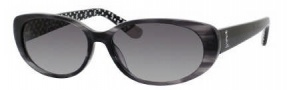 Juicy Couture Juicy 524/S Sunglasses Sunglasses - 0RG5 Black ( Y7 Gray Gradient Lens)