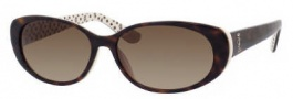 Juicy Couture Juicy 524/S Sunglasses Sunglasses - 0RG6 Tortoise Ivory (Y6 Brown Gradient Lens)