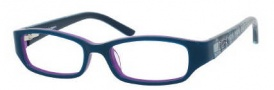 Juicy Couture Juicy 901 Eyeglasses Eyeglasses - 0RD8 Dark Teal / Purple