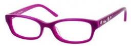 Juicy Couture Juicy 902 Eyeglasses Eyeglasses - 0RU2 Grape / Fuchsia