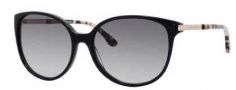 Kate Spade Shawna/S Sunglasses Sunglasses - 0807 Black (Y7 Gray Gradient Lens)