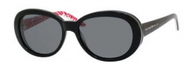 Kate Spade Tali/P/S Sunglasses Sunglasses - X12P Black / Redfinger (RA Gray Polarized Lens)