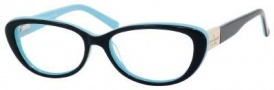 Kate Spade Stephie Eyeglasses Eyeglasses - 0JRH Black Pool