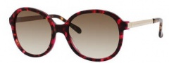 Kate Spade Albertine/S Sunglasses Sunglasses - 0JSQ Tortoise Fuchsia (Y6 Brown Gradient Lens)