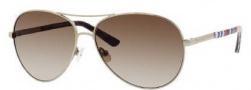Kate Spade Alda/S Sunglasses Sunglasses - 03YG Gold (Y6 Brown Gradient Lens)
