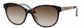 Kate Spade Amalia/S Sunglasses Sunglasses - 0JEY Tortoise Aqua (Y6 Brown Gradient Lens)