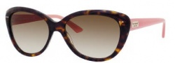 Kate Spade Angelique/S Sunglasses Sunglasses - 0JUH Tortoise Blush (Y6 Brown Gradient Lens)