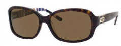 Kate Spade Annika/P/S Sunglasses Sunglasses - JEBP Tortoise / Striped (VW Brown Polarized Lens)