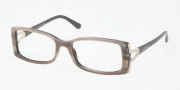 Bvlgari BV4049B Eyeglasses Eyeglasses - 5169 Striped Brown on Cocoa