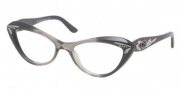 Bvlgari BV4052B Eyeglasses Eyeglasses - 5209 Transparent Gray with Dark Gray