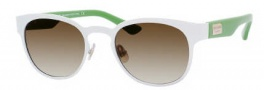 Kate Spade Arie/S Sunglasses Sunglasses - 0DWI White (Y6 Brown Gradient Lens)