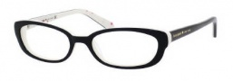 Kate Spade Berget Eyeglasses Eyeglasses - 0RD7 Black Ivory