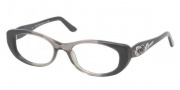 Bvlgari BV4057B Eyeglasses Eyeglasses - 5209 Transparent Gray with Dark Gray