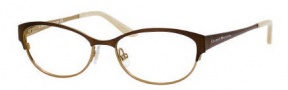 Kate Spade Camelot Eyeglasses Eyeglasses - 0JUV Satin Brown