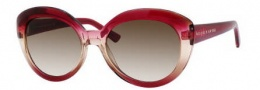 Kate Spade Chesley/S Sunglasses Sunglasses - 0JVD Rose Peach Crystal (Y6 Brown Gradient Lens)