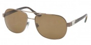 Bvlgari BV5023 Sunglases Sunglasses - 138/83 Brown / Polarized Brown
