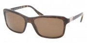 Bvlgari BV7011A Sunglasses Sunglasses - 504/83 Dark Havana / Polarized Brown
