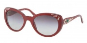 Bvlgari BV8091B Sunglasses Sunglasses - 50388G Red / Gray Gradient