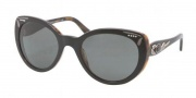 Bvlgari BV8091B Sunglasses Sunglasses - 521287 Top Black on Havana / Gray