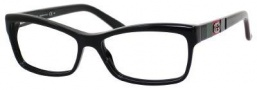 Gucci 3542 Eyeglasses Eyeglasses - 0GAY Black / Green Red Black