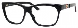 Gucci 3543 Eyeglasses Eyeglasses - 0GAY Black / Black Green Red