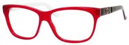 Gucci 3543 Eyeglasses Eyeglasses - 05KD Red / Black Red Green