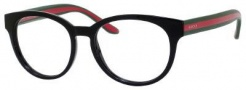 Gucci 3547 Eyeglasses Eyeglasses - 051N Shiny Black / Red Green