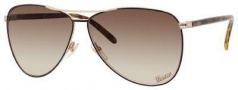 Gucci 4209/S Sunglasses Sunglasses - 09P8 Dark Brown (CC Brown Gradient Lens)