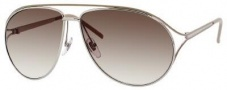 Gucci 4216/S Sunglasses Sunglasses - 0KT6 Palladium (XY Smoke Flash Silver Lens)