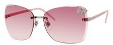 Gucci 4217/S Sunglasses Sunglasses - 0KUJ Palladium / Rose (N8 Orange Pink Gradient Lens)