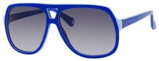 Gucci 5005/C/S Sunglasses Sunglasses - 0KQ1 Electric Blue (JJ Gray Gradient Lens)