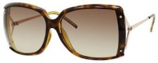 Gucci 3549/F/S Sunglasses Sunglasses - 0G0Y Havana (CC Brown Gradient Lens)