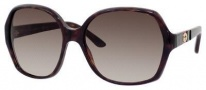 Gucci 3538/S Sunglasses Sunglasses - 0GAZ Dark Havana (HA Brown Gradient Lens)