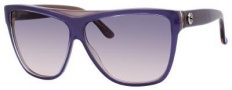 Gucci 3540/S Sunglasses Sunglasses - 05HB Lilac Croc (PG Gray Blue Gradient Lens)