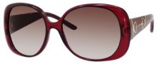 Gucci 3536/S Sunglasses Sunglasses - 0DCG Red (S2 Brown Gradient Lens)