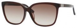 Gucci 3522/F/S Sunglasses Sunglasses - 0806 Dark Olive (JD Brown Gradient Lens)