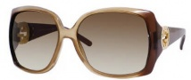 Gucci 3503/S Sunglasses Sunglasses - 0WOS Brown Beige (CC Brown Gradient Lens)