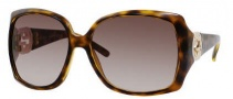 Gucci 3503/S Sunglasses Sunglasses - 0791 Havana (HA Brown Gradient Lens)